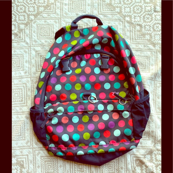 GAP Other - Gap Kids Large Backpack Polka Dots